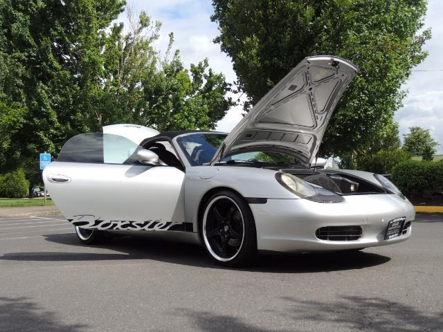 2001 Porsche Boxster Convertible / 5-SPEED MANUAL / LOW MILES - Photo 32 - Portland, OR 97217