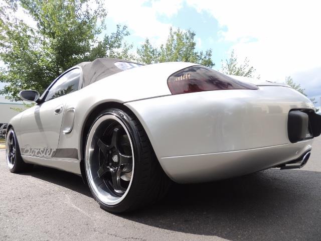 2001 Porsche Boxster Convertible / 5-SPEED MANUAL / RECARO SEATS - Photo 38 - Portland, OR 97217