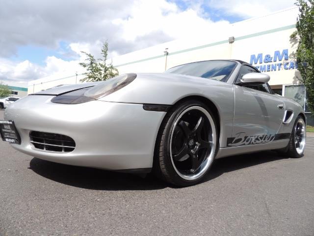 2001 Porsche Boxster Convertible / 5-SPEED MANUAL / RECARO SEATS - Photo 37 - Portland, OR 97217