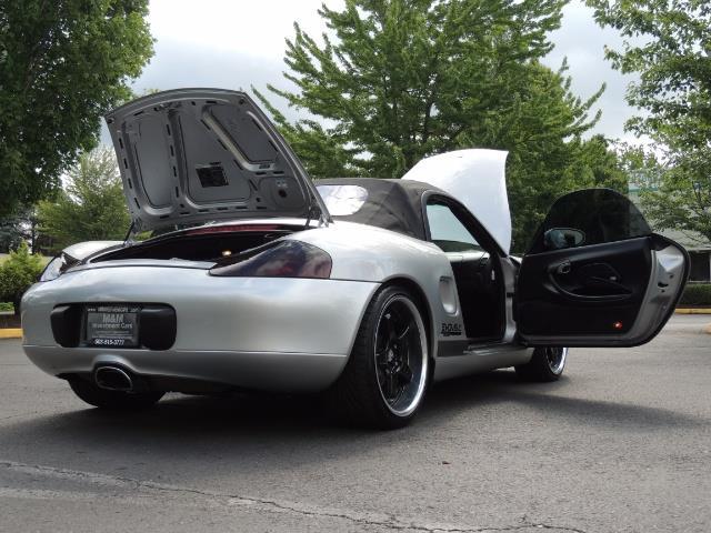 2001 Porsche Boxster Convertible / 5-SPEED MANUAL / RECARO SEATS - Photo 29 - Portland, OR 97217