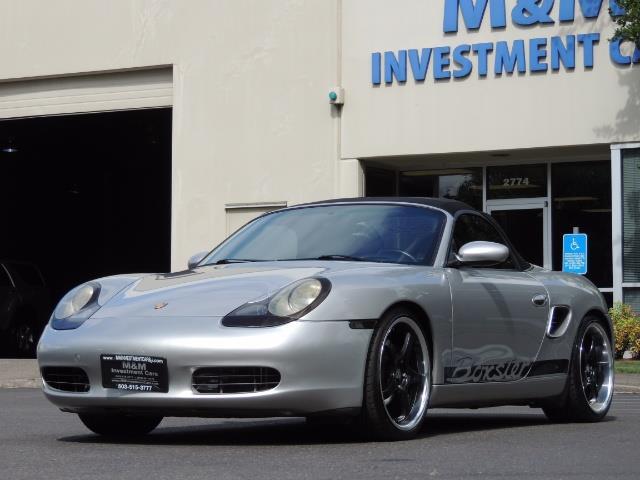 2001 Porsche Boxster Convertible / 5-SPEED MANUAL / RECARO SEATS - Photo 40 - Portland, OR 97217