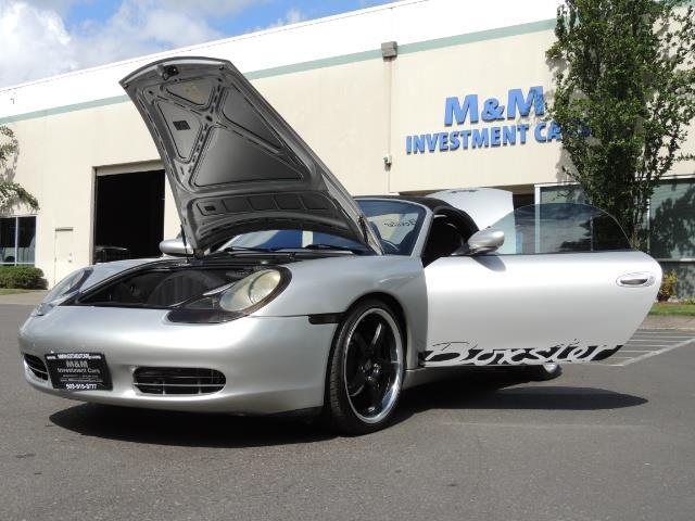 2001 Porsche Boxster Convertible / 5-SPEED MANUAL / RECARO SEATS - Photo 25 - Portland, OR 97217