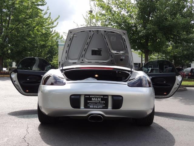 2001 Porsche Boxster Convertible / 5-SPEED MANUAL / RECARO SEATS - Photo 28 - Portland, OR 97217
