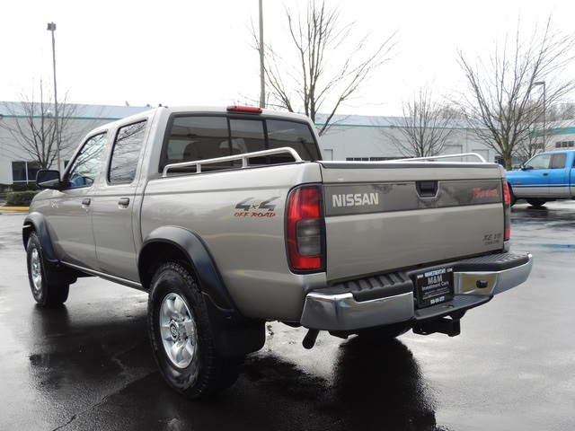 2000 nissan frontier se 4x4 crew cab 94k new tires tacoma. Black Bedroom Furniture Sets. Home Design Ideas