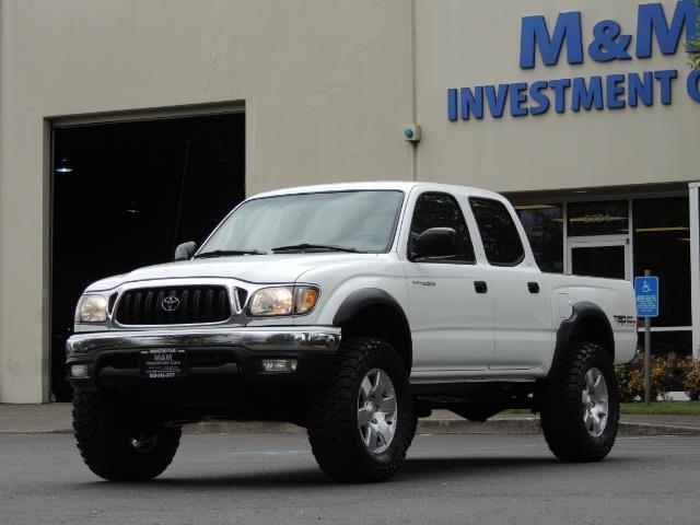 2003 Toyota Tacoma SR5 V6 / 4X4 /TRD OFF RD  REAR DIFF LOCKS / LIFTED - Photo 45 - Portland, OR 97217