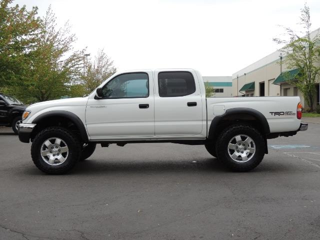 2003 Toyota Tacoma SR5 V6 / 4X4 /TRD OFF RD  REAR DIFF LOCKS / LIFTED - Photo 3 - Portland, OR 97217