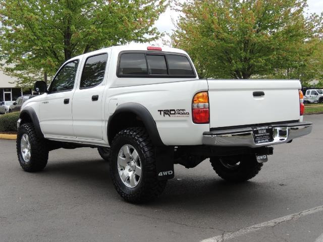 2003 Toyota Tacoma SR5 V6 / 4X4 /TRD OFF RD  REAR DIFF LOCKS / LIFTED - Photo 8 - Portland, OR 97217