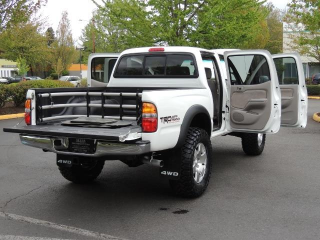 2003 Toyota Tacoma SR5 V6 / 4X4 /TRD OFF RD  REAR DIFF LOCKS / LIFTED - Photo 28 - Portland, OR 97217