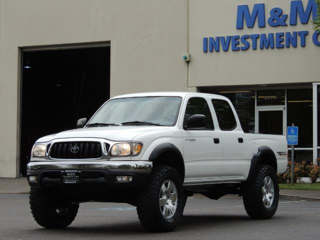 2003 Toyota Tacoma SR5 V6 / 4X4 /TRD OFF RD  REAR DIFF LOCKS / LIFTED - Photo 44 - Portland, OR 97217