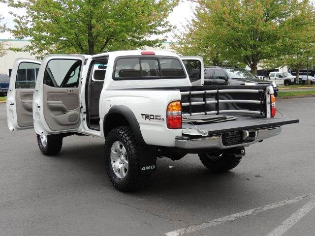 2003 Toyota Tacoma SR5 V6 / 4X4 /TRD OFF RD  REAR DIFF LOCKS / LIFTED - Photo 27 - Portland, OR 97217