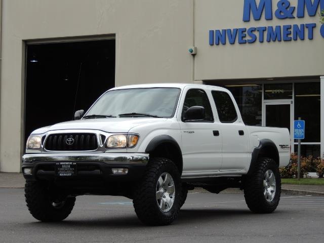 2003 Toyota Tacoma SR5 V6 / 4X4 /TRD OFF RD  REAR DIFF LOCKS / LIFTED - Photo 1 - Portland, OR 97217