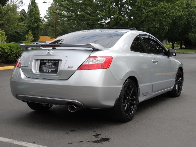 2008 honda civic si coupe 6 speed manual rear wing 69 kmiles. Black Bedroom Furniture Sets. Home Design Ideas