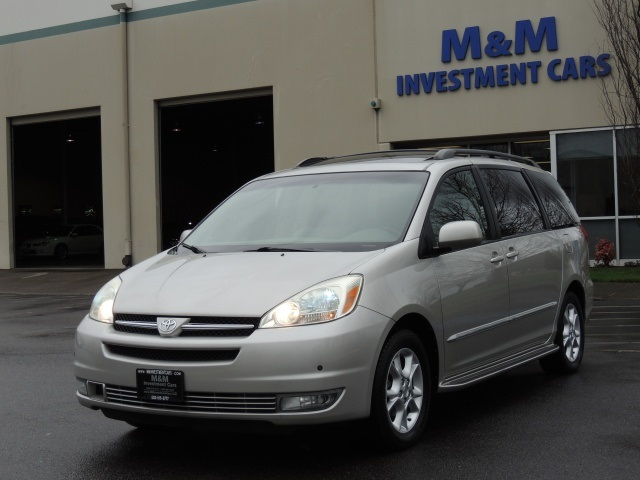2004 toyota sienna xle limited leather moon roof. Black Bedroom Furniture Sets. Home Design Ideas