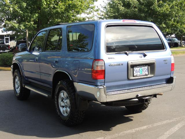 "2000 Toyota 4Runner SR5 4dr 4WD 3.4L 6Cyl LIFTED 33 "" Mud Tires - Photo 6 - Portland, OR 97217"