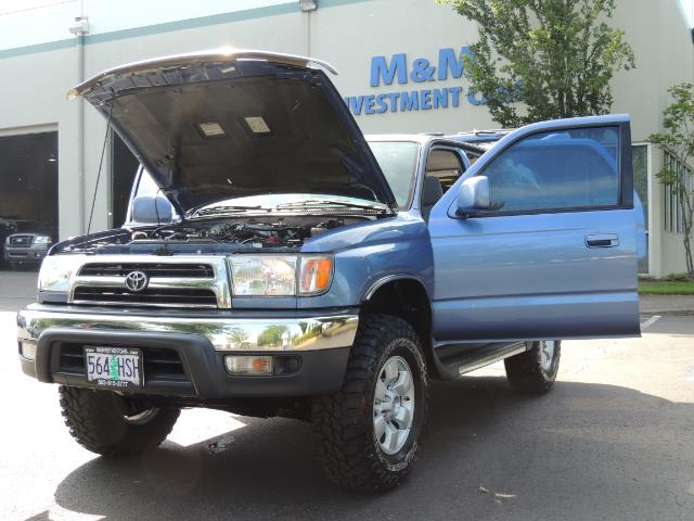 "2000 Toyota 4Runner SR5 4dr 4WD 3.4L 6Cyl LIFTED 33 "" Mud Tires - Photo 25 - Portland, OR 97217"