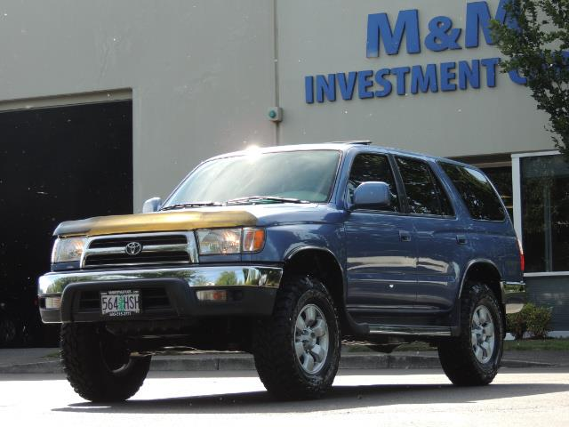 "2000 Toyota 4Runner SR5 4dr 4WD 3.4L 6Cyl LIFTED 33 "" Mud Tires - Photo 41 - Portland, OR 97217"
