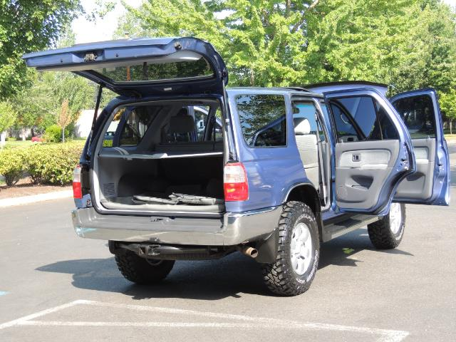 "2000 Toyota 4Runner SR5 4dr 4WD 3.4L 6Cyl LIFTED 33 "" Mud Tires - Photo 27 - Portland, OR 97217"