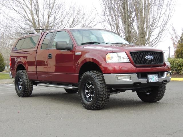 2005 ford f 150 xlt 4dr 4x4 canopy 35 mud tires. Black Bedroom Furniture Sets. Home Design Ideas