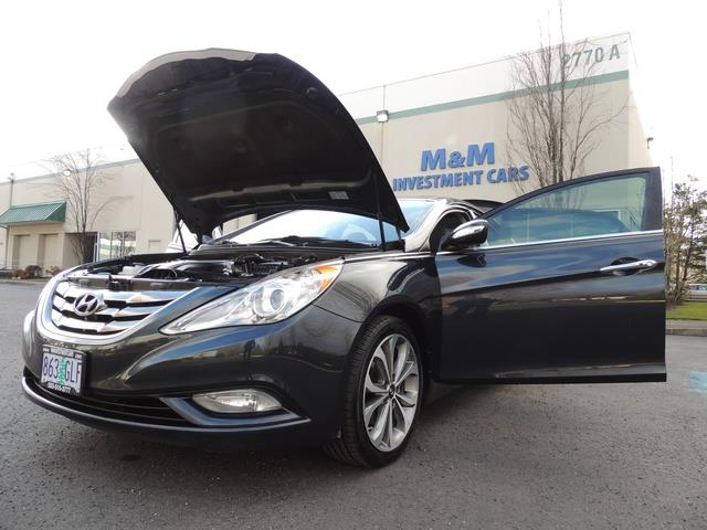 2013 Hyundai Sonata 2.0T Limited w/Navi / Leather / Loaded / 1-OWNER - Photo 25 - Portland, OR 97217