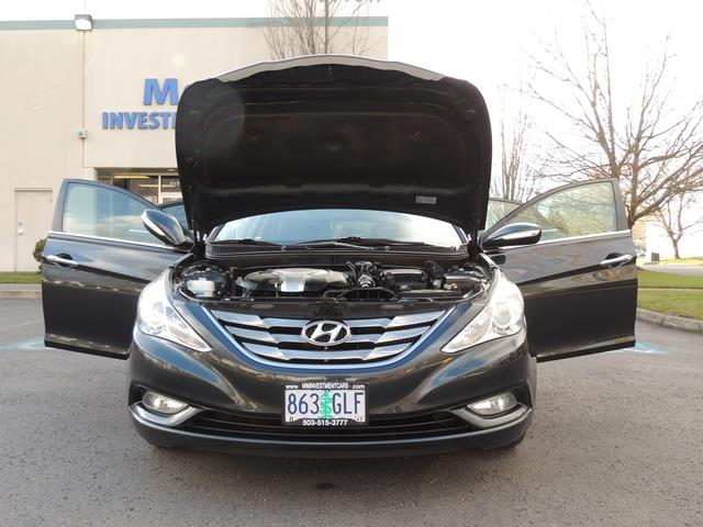 2013 Hyundai Sonata 2.0T Limited w/Navi / Leather / Loaded / 1-OWNER - Photo 33 - Portland, OR 97217