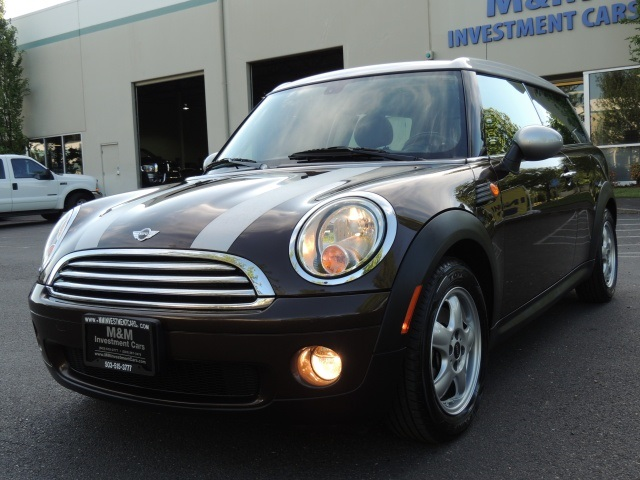 2009 mini cooper clubman 6 speed manual panorama roof. Black Bedroom Furniture Sets. Home Design Ideas