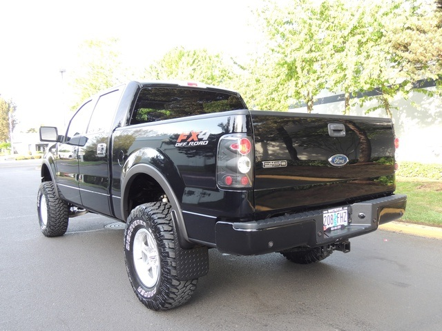 2005 ford f 150 fx4 crew cab 4wd navigation lifted lifted. Black Bedroom Furniture Sets. Home Design Ideas