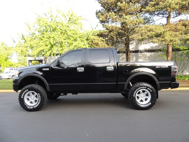 2005 ford f 150 fx4 crew cab 4wd navigation lifted lifted