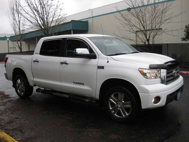 2007 toyota tundra crewmax limited excellent condition autos post. Black Bedroom Furniture Sets. Home Design Ideas