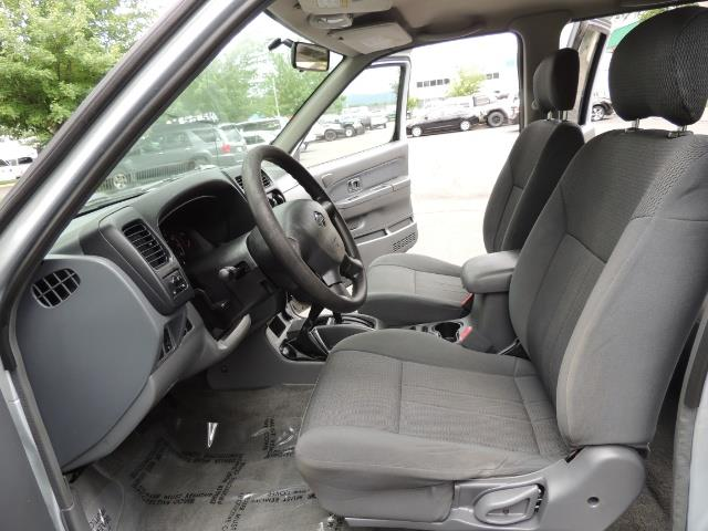 2001 Nissan Frontier XE 4-dr / OFF ROAD 4X4 / Crew Cab / V6 / Automatic - Photo 15 - Portland, OR 97217