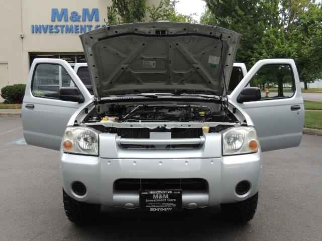 2001 Nissan Frontier XE 4-dr / OFF ROAD 4X4 / Crew Cab / V6 / Automatic - Photo 37 - Portland, OR 97217