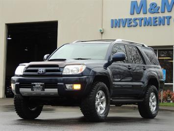 2004 Toyota 4Runner SR5 / Sport Utility / 4WD / Leather / LIFTED SUV