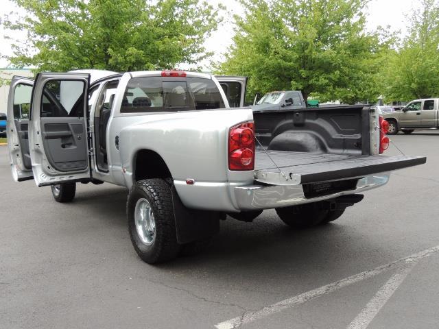 2008 Dodge Ram 3500 SLT 4dr Quad Cab / 4X4 / 6.7L DIESEL / BIGHORN ED - Photo 27 - Portland, OR 97217