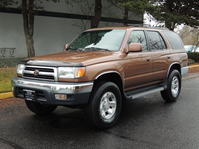 1999 toyota 4runner sr5 dif locks 4x4 timingbelt 109k. Black Bedroom Furniture Sets. Home Design Ideas