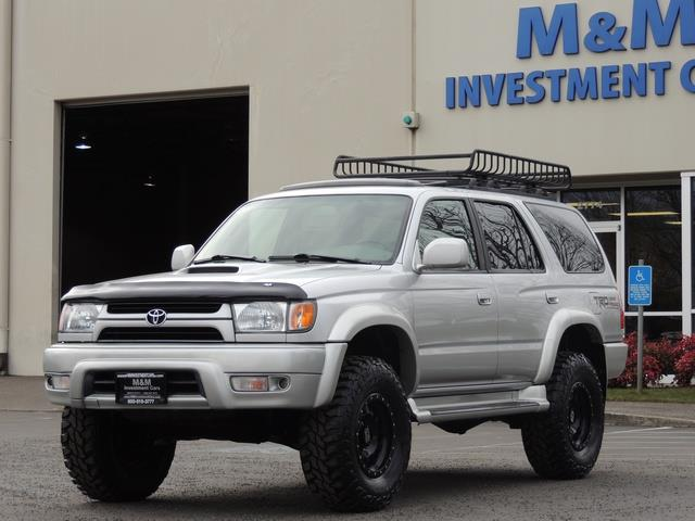 2001 Toyota 4Runner SPORT SR5 / 4X4 / Sunroof / LIFTED LIFTED - Photo 41 - Portland, OR 97217
