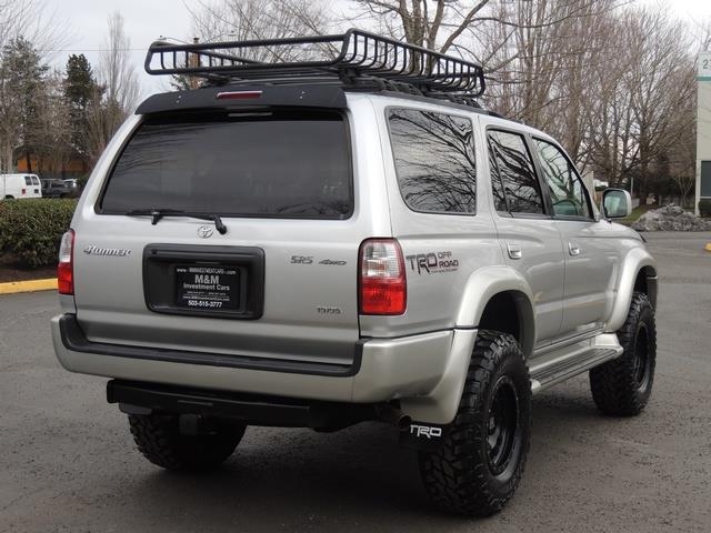 2001 Toyota 4Runner SPORT SR5 / 4X4 / Sunroof / LIFTED LIFTED - Photo 8 - Portland, OR 97217