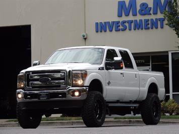 2016 Ford F-250 Super Duty LARIAT/ 4X4 / 6.7L DIESEL / NEW LIFT Truck