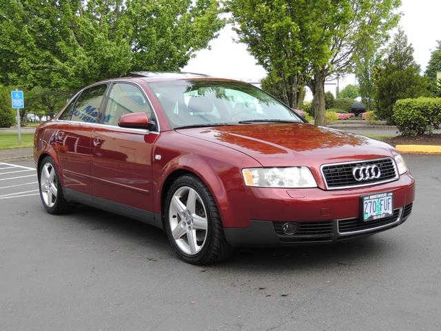 2004 audi a4 3 0 quattro awd leather heated seats. Black Bedroom Furniture Sets. Home Design Ideas