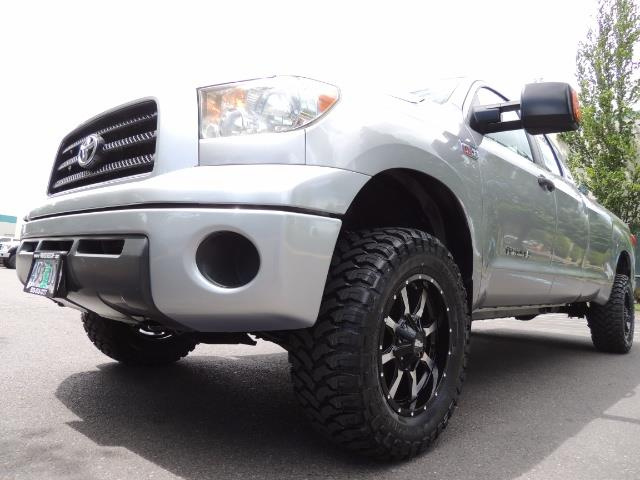 2007 Toyota Tundra 4X4 5.7L Double Cab  / Long Bed / 1-Owner / LIFTED - Photo 9 - Portland, OR 97217