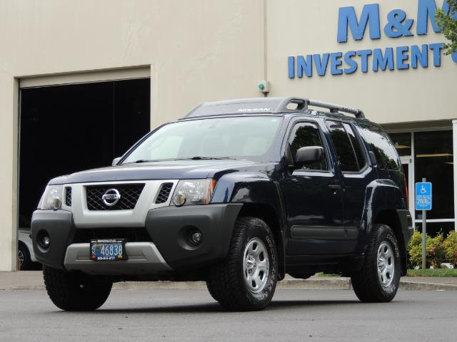 2010 Nissan Xterra X  Sport Utility / 4WD / 6-SPEED MANUAL / 1-OWNER - Photo 42 - Portland, OR 97217