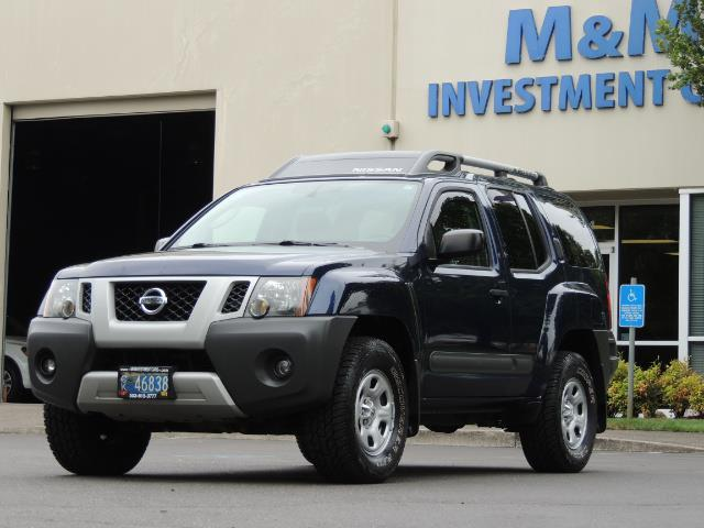 2010 Nissan Xterra X  Sport Utility / 4WD / 6-SPEED MANUAL / 1-OWNER - Photo 41 - Portland, OR 97217