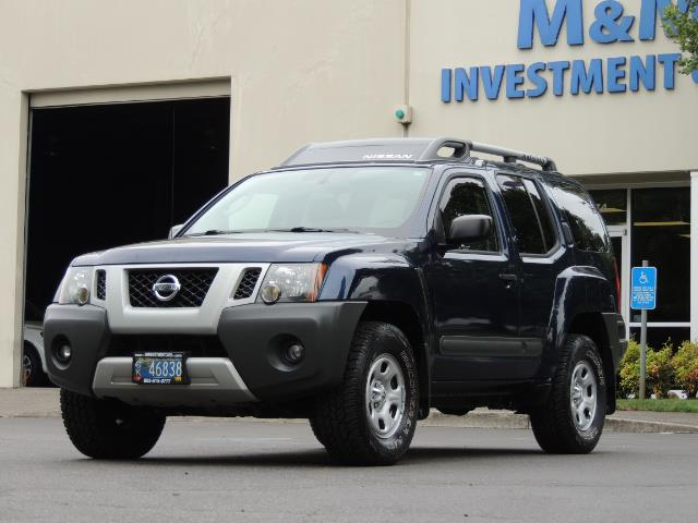 2010 Nissan Xterra X  Sport Utility / 4WD / 6-SPEED MANUAL / 1-OWNER - Photo 44 - Portland, OR 97217
