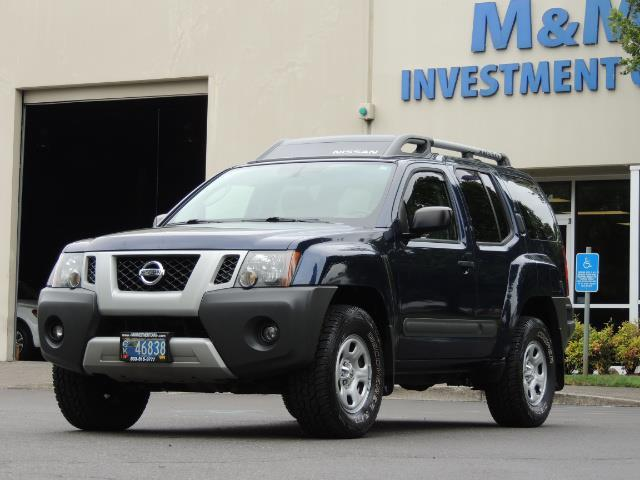 2010 Nissan Xterra X  Sport Utility / 4WD / 6-SPEED MANUAL / 1-OWNER - Photo 1 - Portland, OR 97217