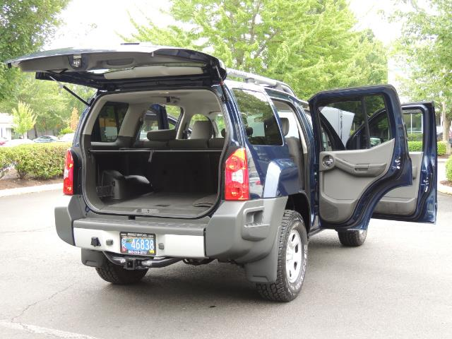 2010 Nissan Xterra X  Sport Utility / 4WD / 6-SPEED MANUAL / 1-OWNER - Photo 29 - Portland, OR 97217