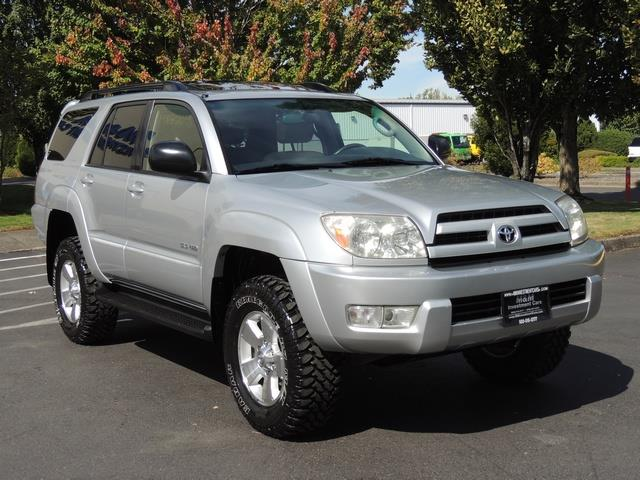 2004 toyota 4runner sport 4wd leather sunroof 1 owner lifted 114kmi. Black Bedroom Furniture Sets. Home Design Ideas