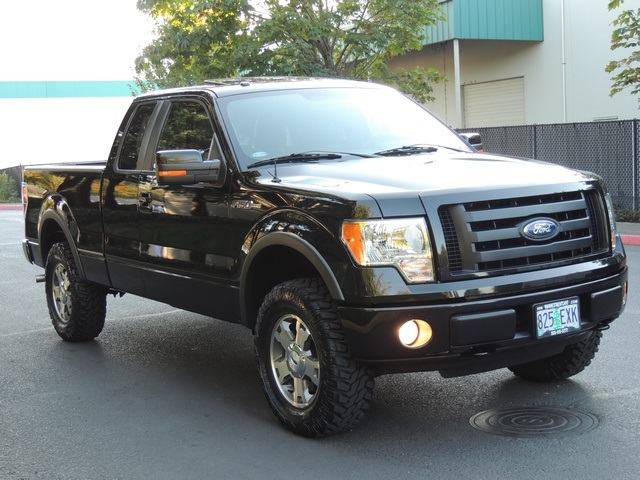 2010 ford f 150 fx4 4x4 leather moonroof 29k miles lifted. Black Bedroom Furniture Sets. Home Design Ideas