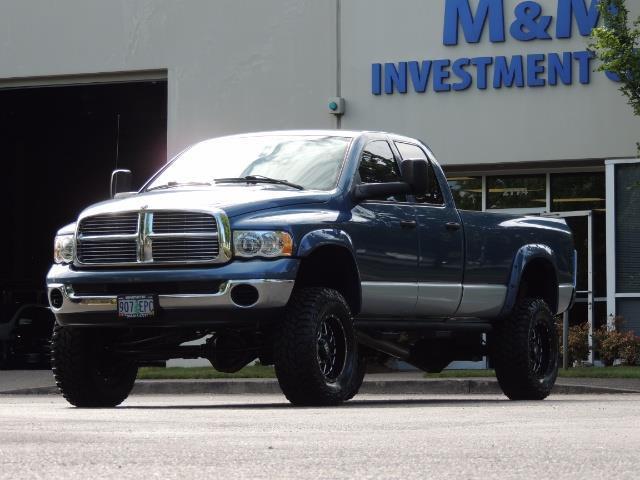 2003 Dodge Ram 2500 SLT / 4X4 / 5.9L Diesel HIGHOUTPUT/ 6-SPEED MANUAL - Photo 1 - Portland, OR 97217
