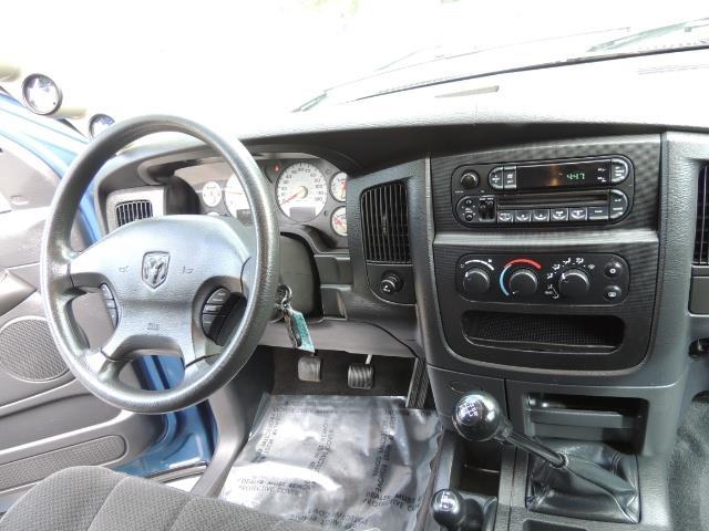2003 Dodge Ram 2500 SLT / 4X4 / 5.9L Diesel HIGHOUTPUT/ 6-SPEED MANUAL - Photo 19 - Portland, OR 97217