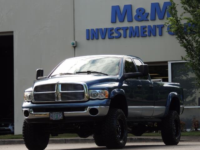 2003 Dodge Ram 2500 SLT / 4X4 / 5.9L Diesel HIGHOUTPUT/ 6-SPEED MANUAL - Photo 43 - Portland, OR 97217