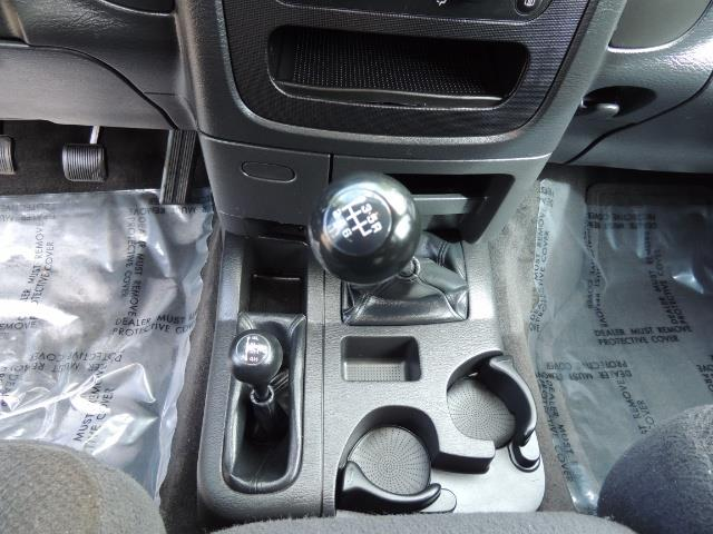 2003 Dodge Ram 2500 SLT / 4X4 / 5.9L Diesel HIGHOUTPUT/ 6-SPEED MANUAL - Photo 20 - Portland, OR 97217