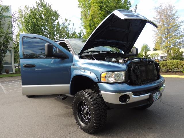 2003 Dodge Ram 2500 SLT / 4X4 / 5.9L Diesel HIGHOUTPUT/ 6-SPEED MANUAL - Photo 29 - Portland, OR 97217